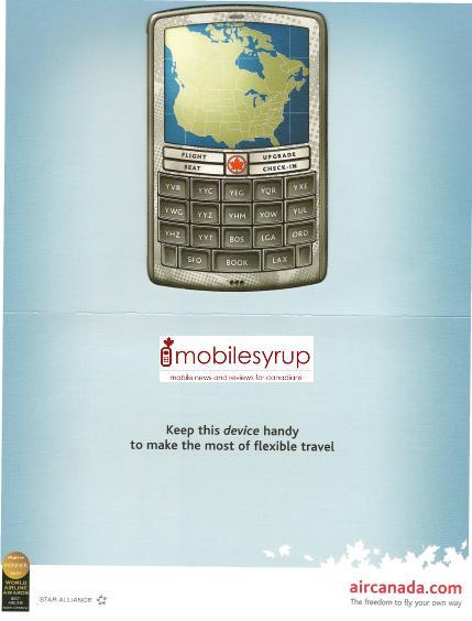 """Air Canada """"Flight Pass"""": mobile.aircanada.com"""