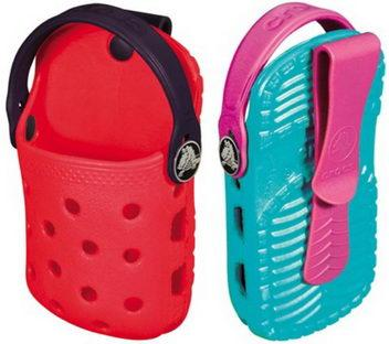 "Crocs releases ""Crocks-o-Dial"" mobile phone holder"