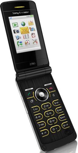 Sony Ericsson launches the Z780 flip phone
