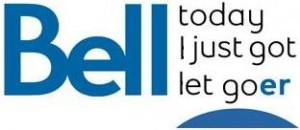 Bell logo let go (We created this mock up logo just to poke fun at how things are getting better at Bell!)