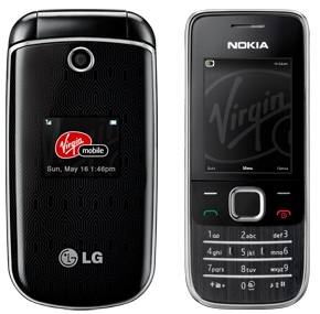 Virgin Mobile Releases Lg 230 And Nokia 2730