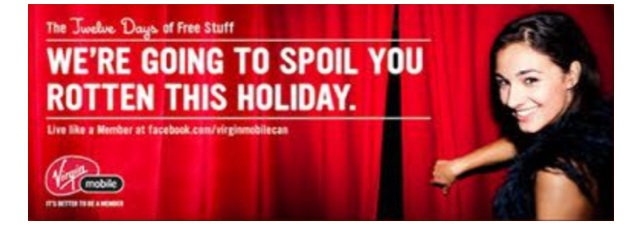 Virgin To Announce Wicked 12 Day Holiday Contest