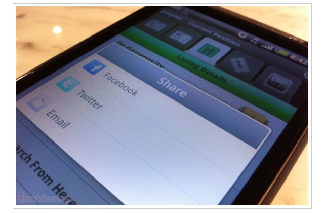 Poynt app for BlackBerry and Android now has