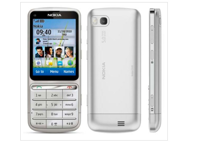 TELUS releasing the Nokia C3-01 soon
