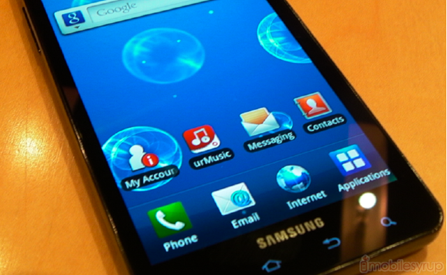 Rogers to release the Samsung Galaxy S Infuse 4G at $549 99