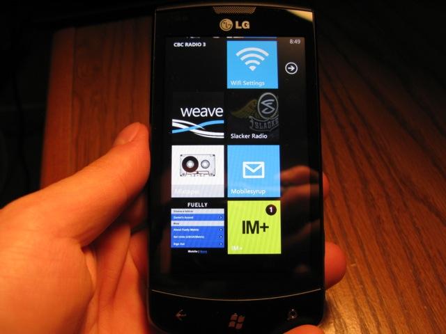 Windows Phone Mango bug allows a text message to break