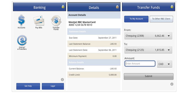 RBC Mobile app for Android now available