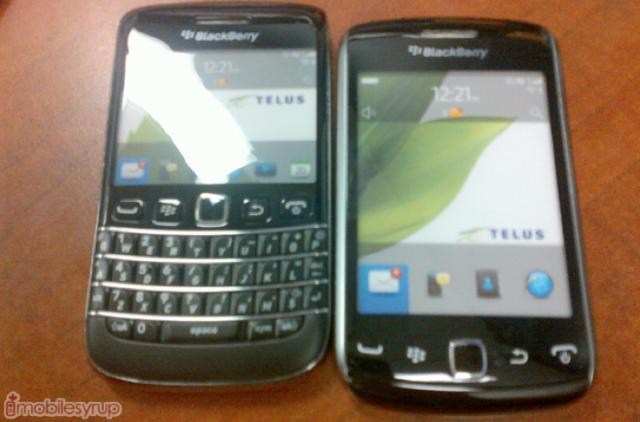 BlackBerry Bold 9790 dummy device strolls into TELUS, launch
