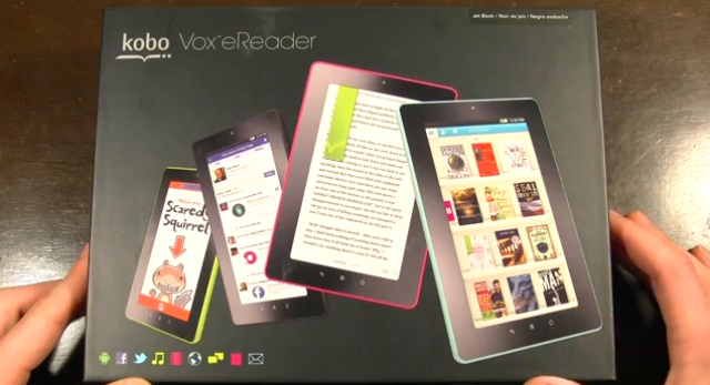 Kobo Vox Hands-on: a cheap tablet in more ways than one