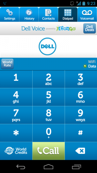 Dell introduces Dell Voice powered by Fongo, free Canadian phone