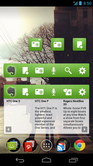 Evernote for Android updated with text-to-speech, Evernote ...