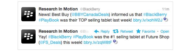 BlackBerry PlayBook was this week's top selling tablet at