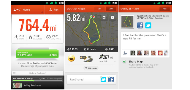 evaporación Analgésico judío  Nike+ Running app for Android now available, iOS updated to version 4.0 |  MobileSyrup