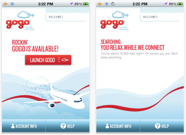 Before you board and attempt to connect to Gogo's inflight Wi-Fi network, you must: Have a compatible T-Mobile branded device. Be on the most recent software version, which allows you to connect to Gogo's inflight Wi-Fi network. Have a valid E address on file with T-Mobile for your mobile number.