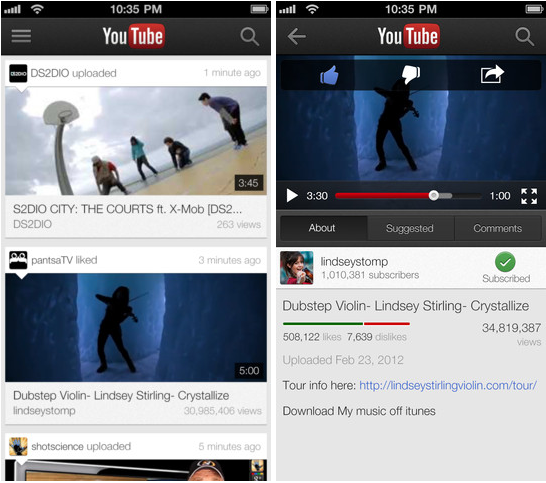 play youtube with screen off iphone finally for ios gets airplay support and extends 8254
