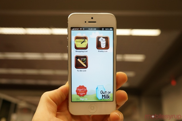 Out of Milk Grocery List app now available for iPhone ...