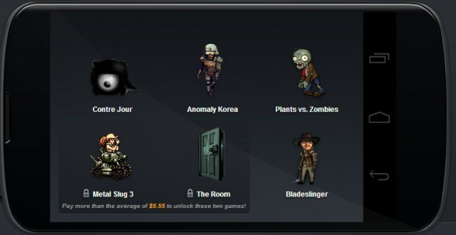 Android-Specific Humble Bundle Offers Plants Vs. Zombies, Metal Slug 3 and Others At A Discount