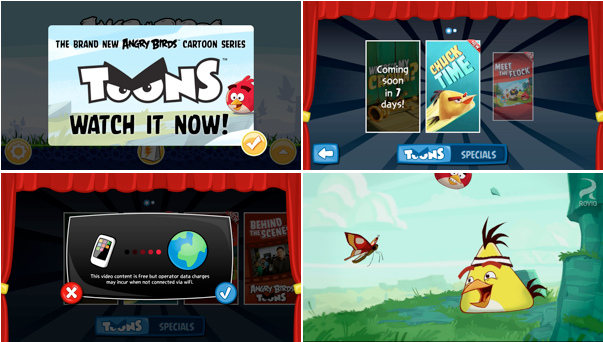 Update Angry Birds Toons Now Available To Watch On Your