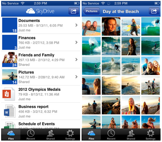 SkyDrive for iOS 3.0 Brings Full-Resolution Photos, iPhone 5 And iPad Mini Support
