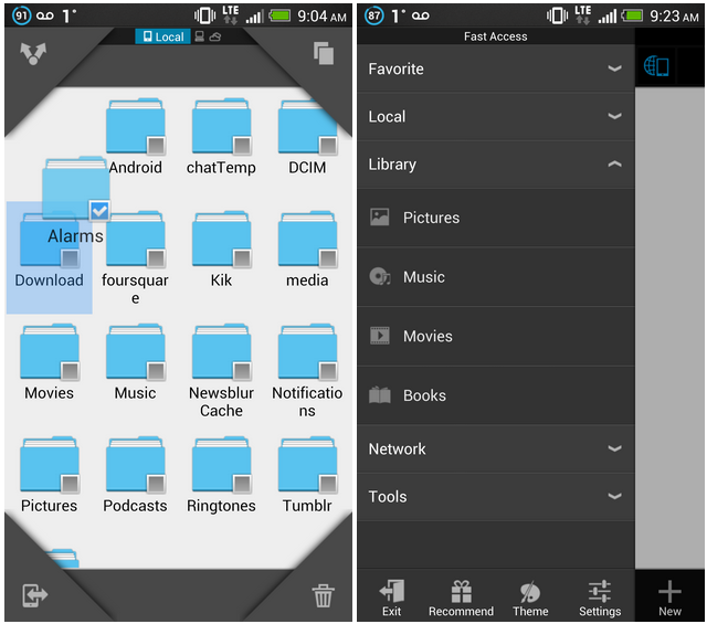 ES File Explorer 3 now available as a Public Test on Google Play