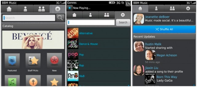 BlackBerry shutting down BBM Music on June 2nd