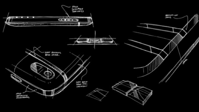 BlackBerry shows off Q10 design sketches