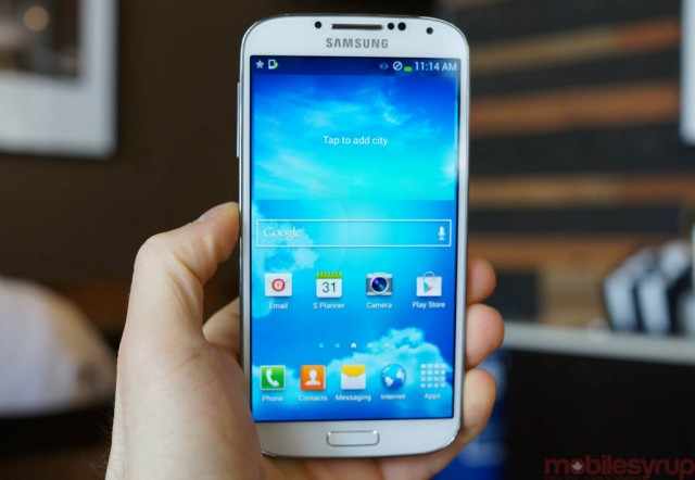 Galaxy S4 now available in Canada!