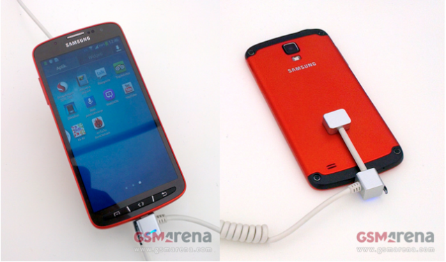 Rugged Samsung Galaxy S4 Active surfaces online, both in pictures and video