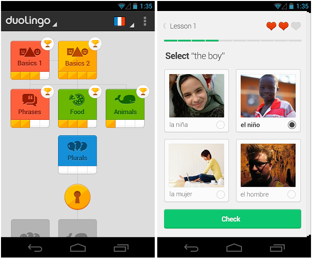 Duolingo launches for Android to help you learn a language or five