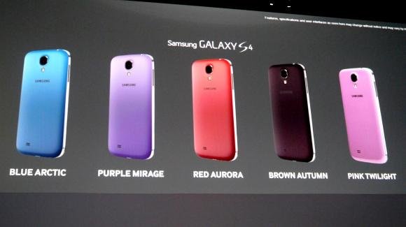 Samsung announces new colours for the Galaxy S4