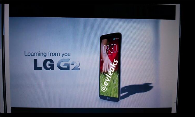 LG G2 leaks online, volume buttons moved to the back