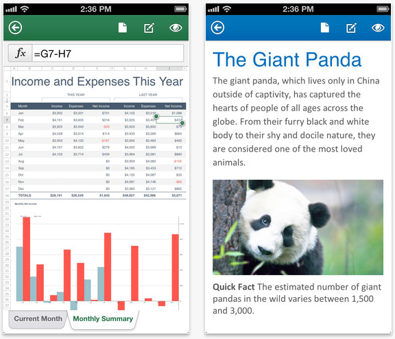 Microsoft Office Mobile for iOS now available in Canada