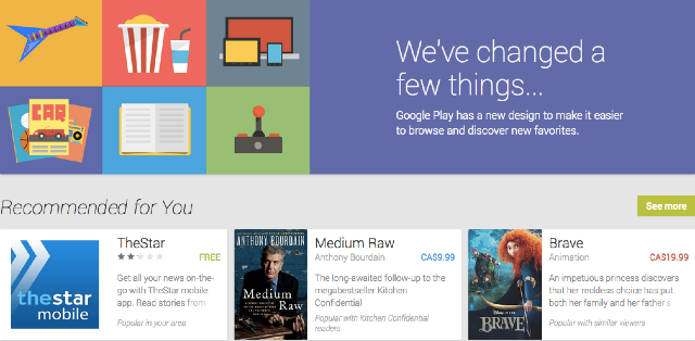Google overhauls and beautifies Play Store on the web