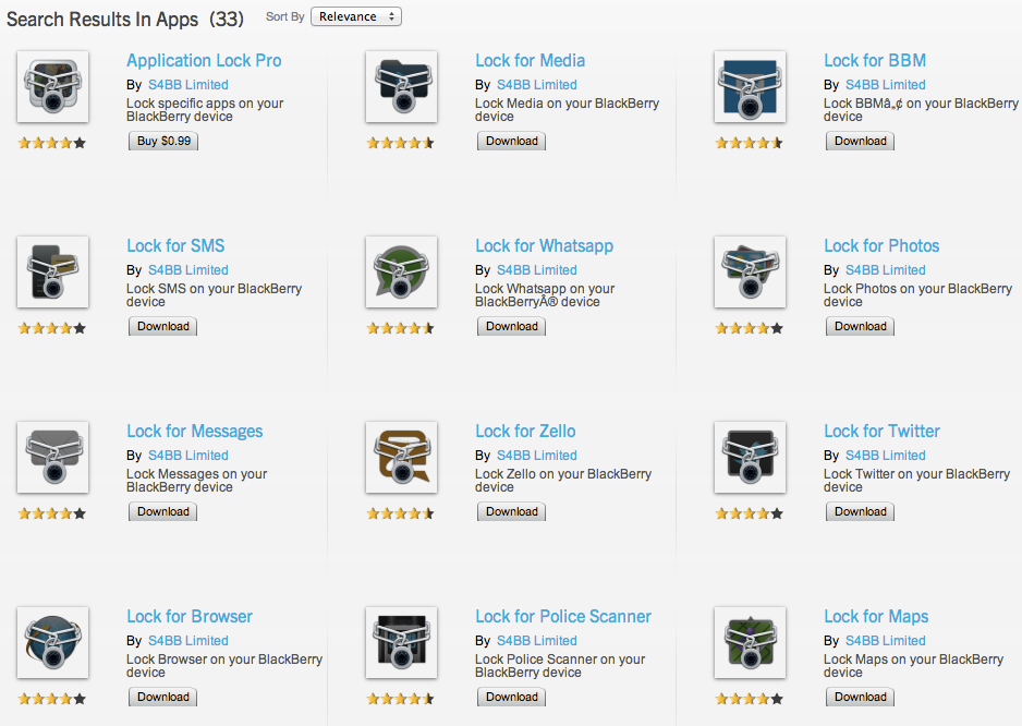 Padded numbers: why does one BlackBerry developer offer 50,000 apps?