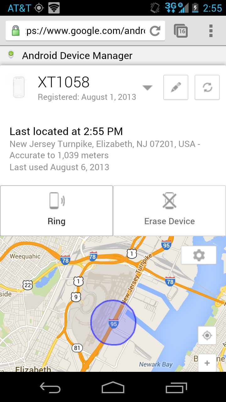 Google Rolls Out Android Device Manager To Help You Track A Lost