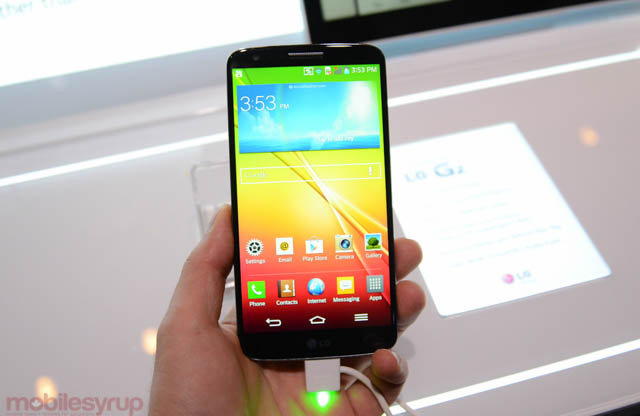 Rogers to release the LG G2