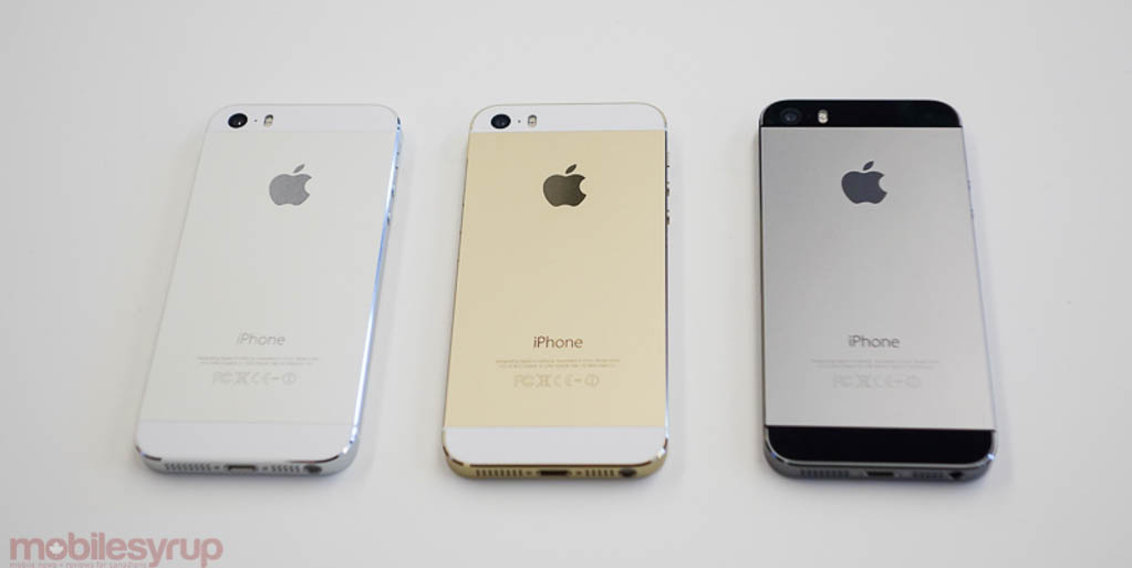 Heres The IPhone 5s 2 Year Contract Pricing In Canada