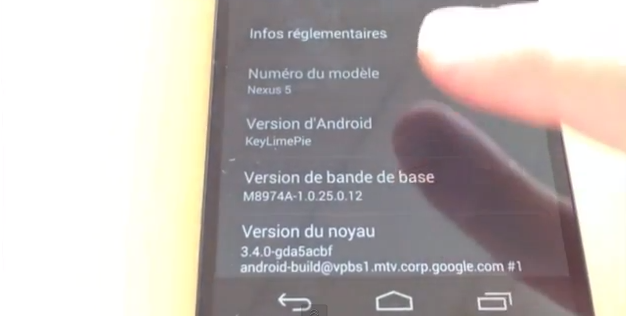 Nexus 5 stars in 7-minute video