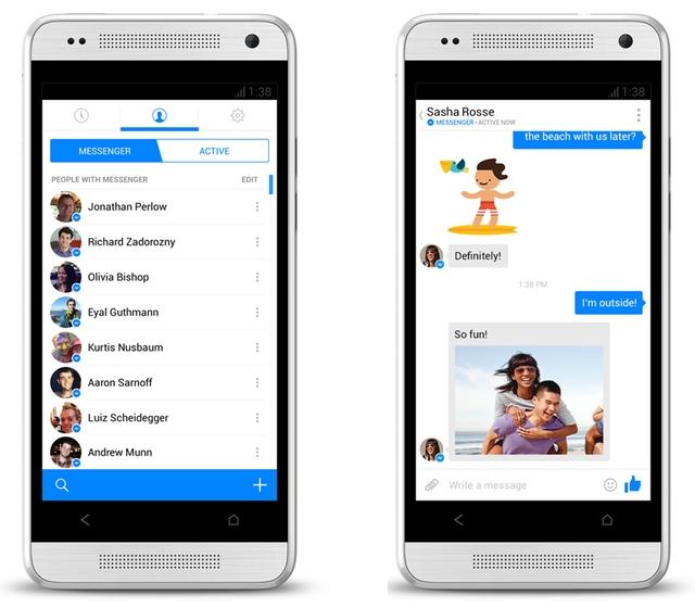 The new messenger app