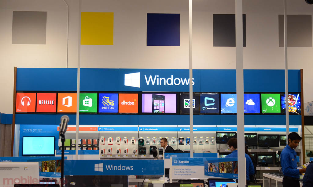 Microsoft Partners With Best Buy And Future Shop To Bring