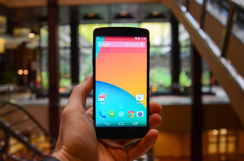 Hands-on with the Nexus 5 (video)