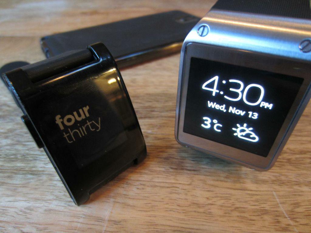 Wearable Wars: Wrist to Wrist with Pebble & Galaxy Gear