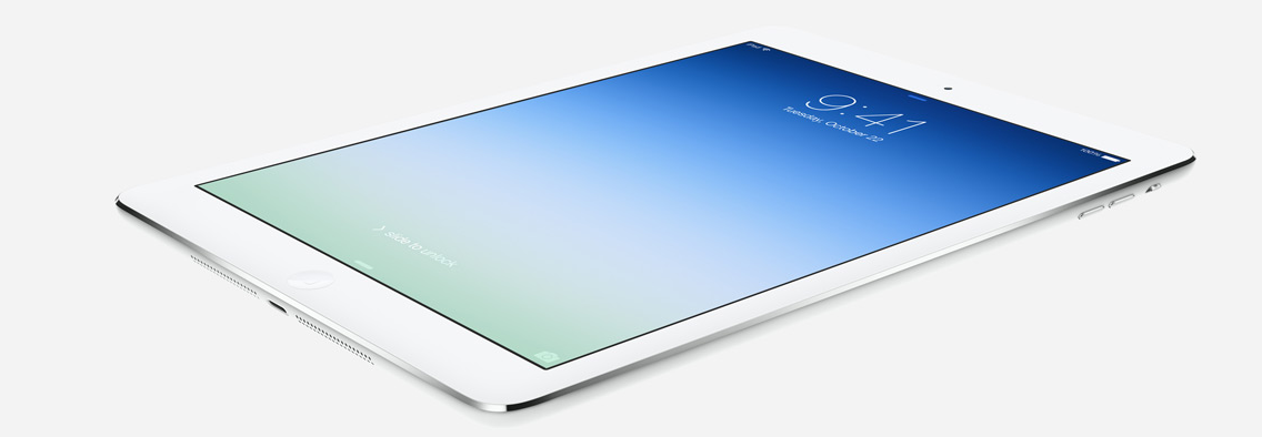 iPad Air now available in Canada