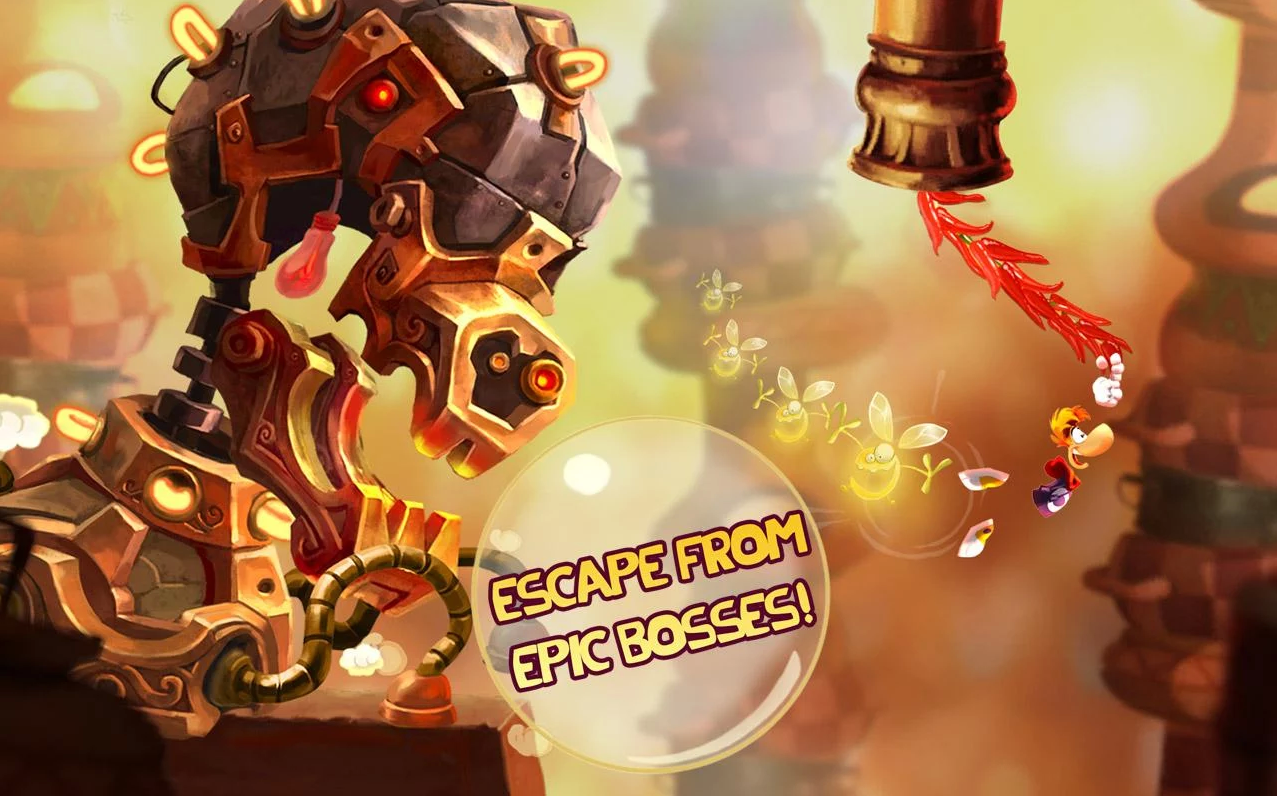 Rayman Fiesta Run debuts on iOS and Android, proves that great platformers exist on mobile