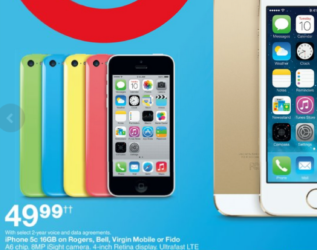 iphone 5c virgin mobile iphone 5c now 50 on a 2 year contract at target mobile 14711