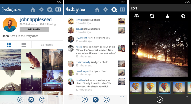 Instagram Beta for Windows Phone updated, adds ability to ...