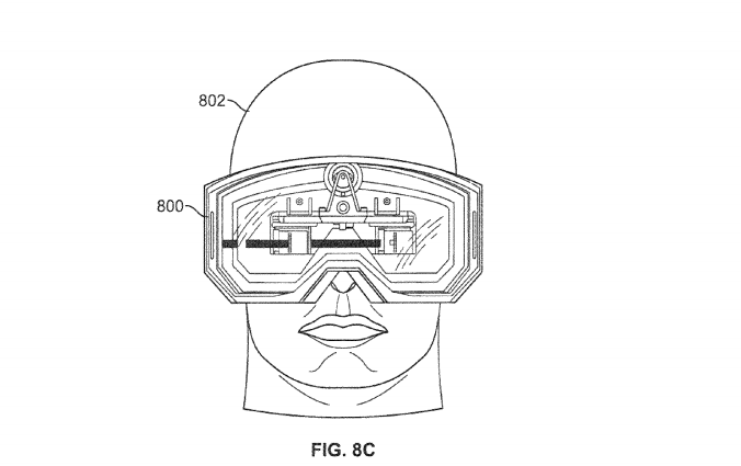 Google has Glass, Apple has Goggles? Patent teases possible 3D heads-up display