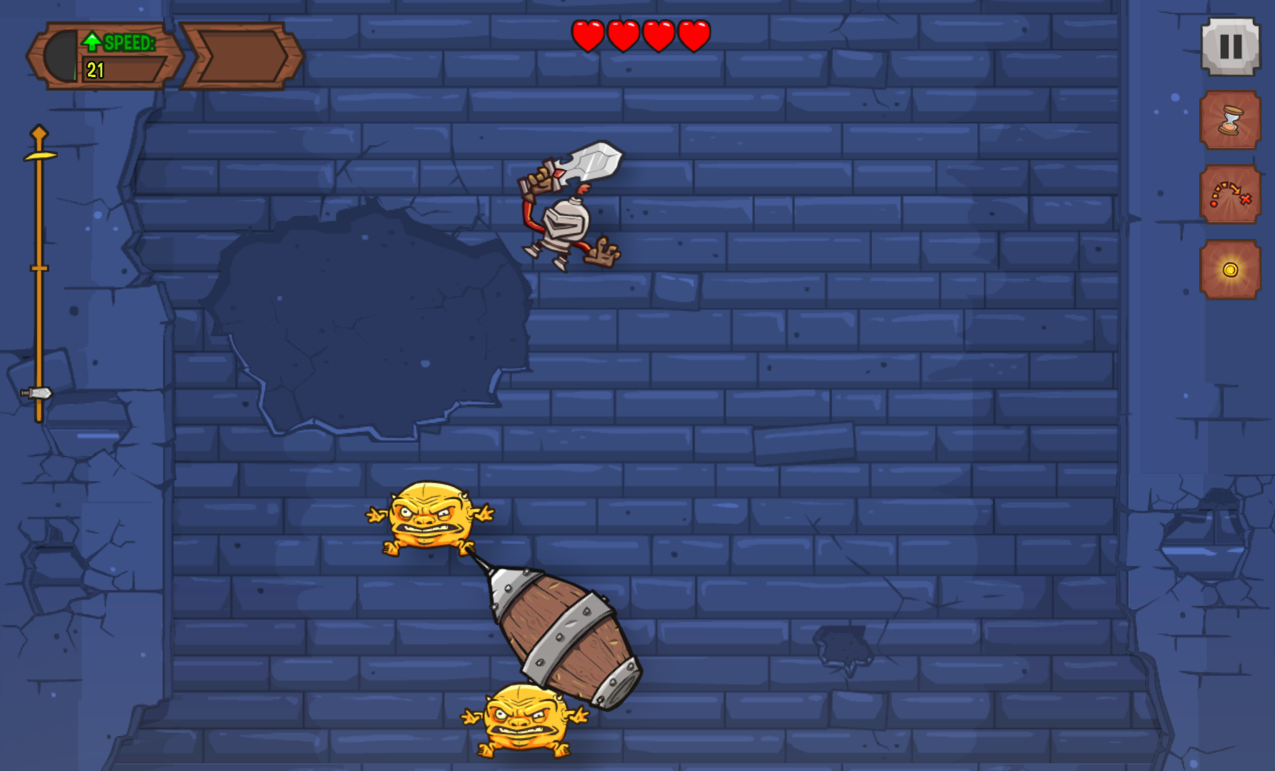 Knightmare Tower is one of Android's best games, and it does F2P right