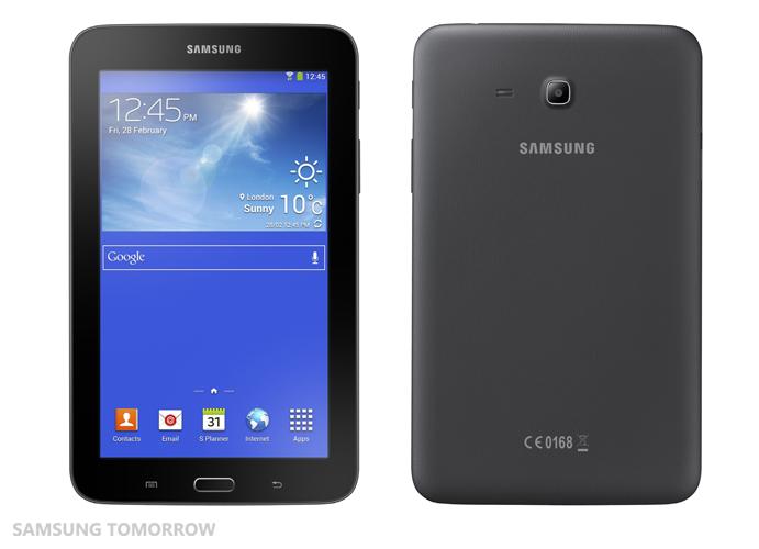 Samsung announces the 7-inch Galaxy Tab 3 Lite