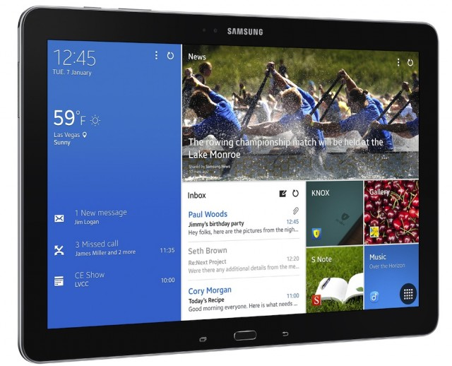 Samsung announces Galaxy Note Pro 12.2 and three Galaxy Tab Pro tablets